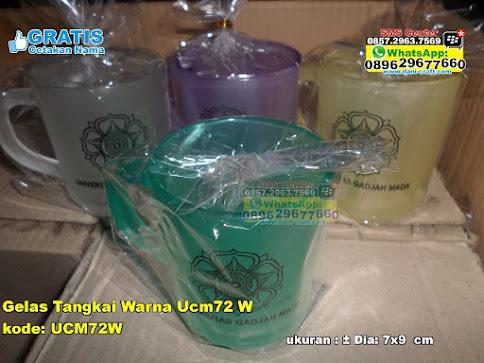Gelas Tangkai Warna Ucm72 W murah