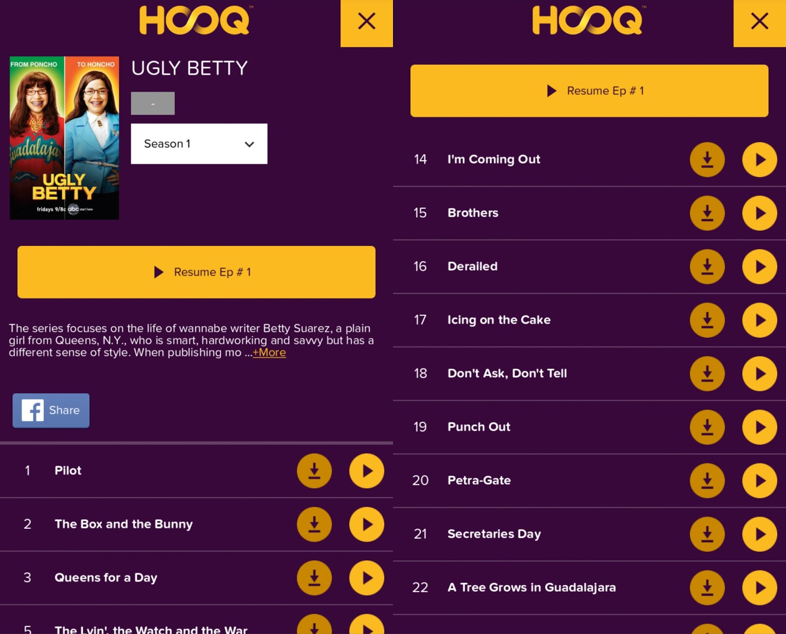 Globe HOOQ TV series and movie streaming