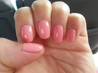 opaque light pink orly nail polish in cotton candy