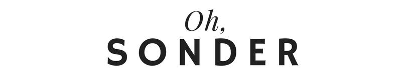 Oh, Sonder