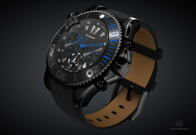 3D illustration Vuarnet Watch