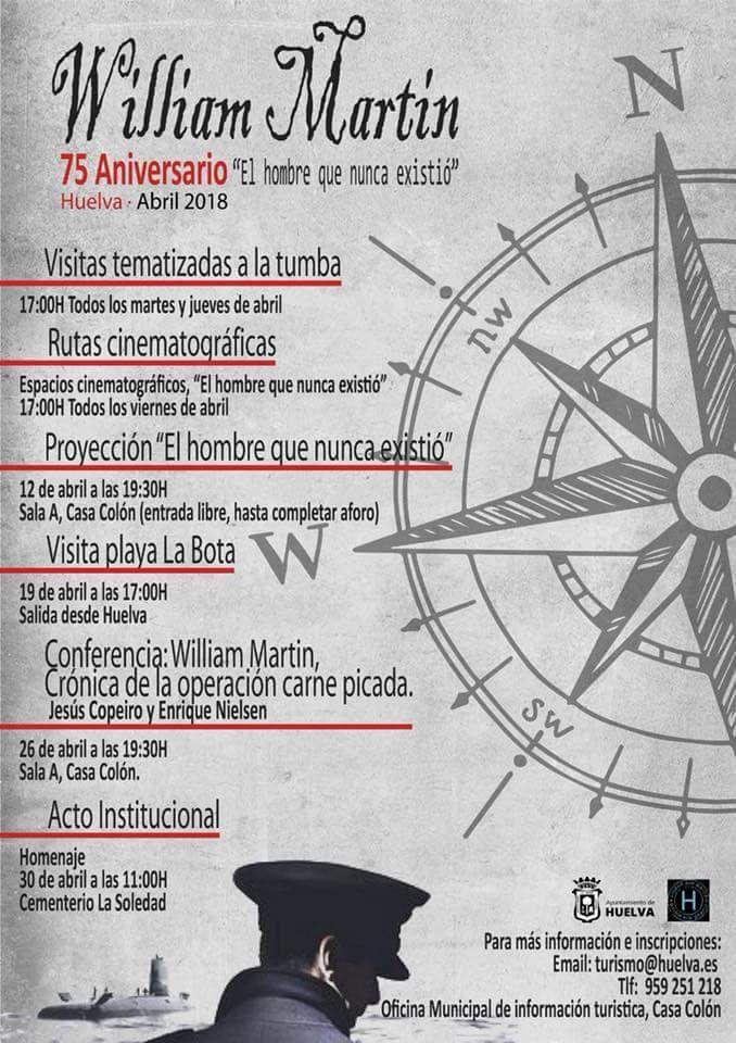 75 ANIVERSARIO DE LA APARICIÓN DE WILLIAN MARTIN