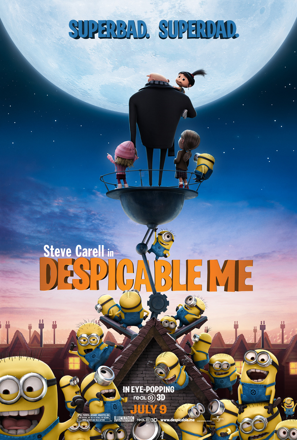 Despicable Me (2010) BRRip 720p