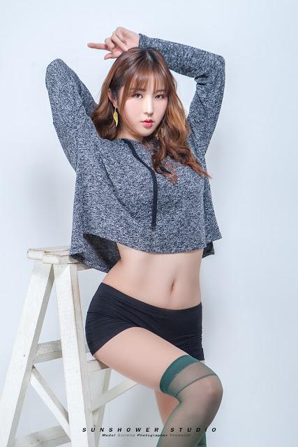 5 Seol Re Na - Three Studio Sets - very cute asian girl-girlcute4u.blogspot.com