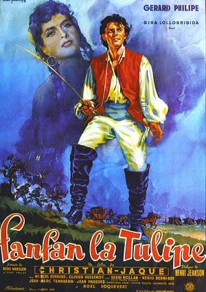 Fanfan la Tulipe (1952) affiche