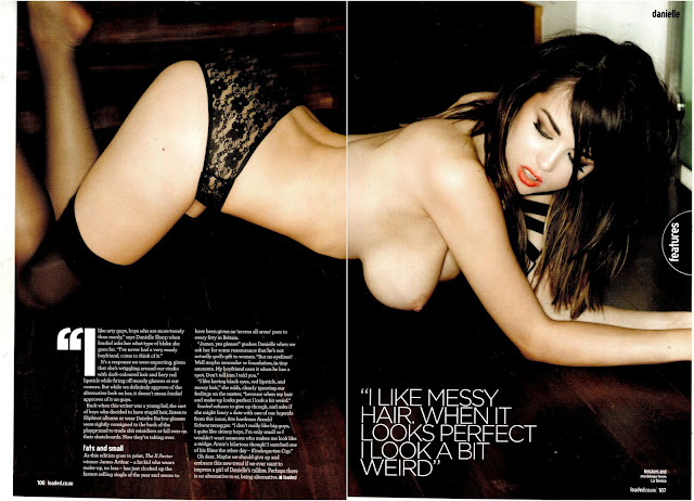 Danielle Sharp –Naked For Loaded Magazine (February 2013)
