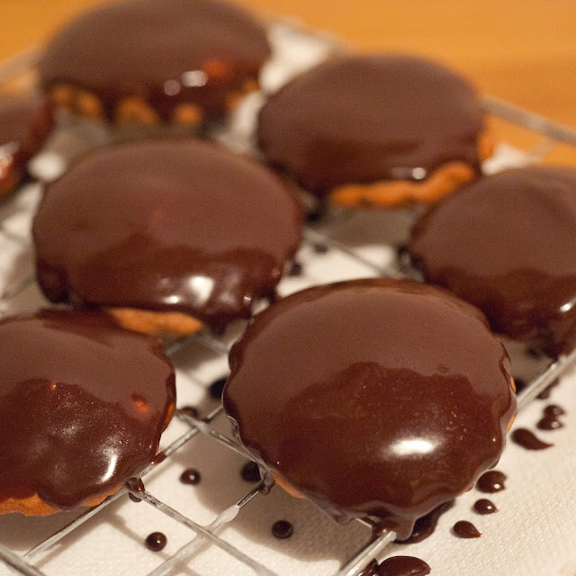 Ciasteczka chałwowe (z tahini)