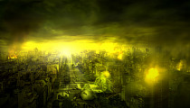 "Nuevo matte painting para ""Qurun Hattun, la muerte verde"""