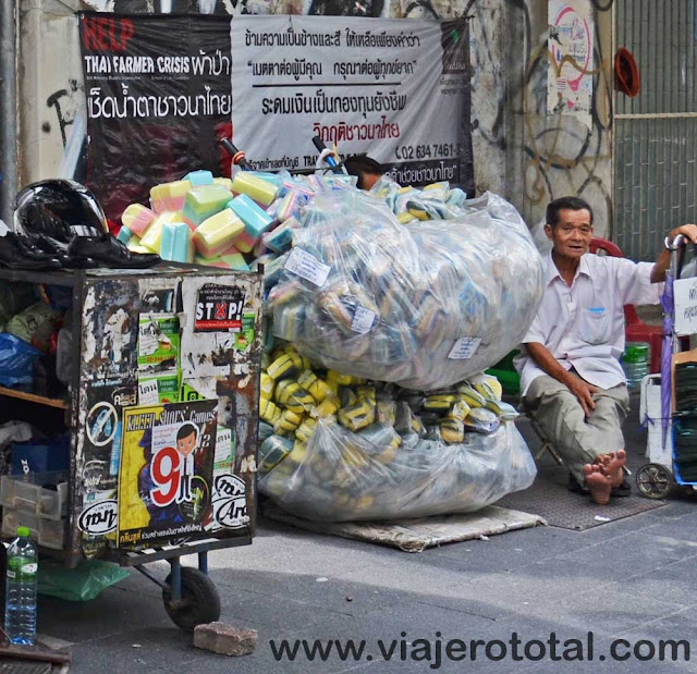 Tailandia Bangkok Vendedor