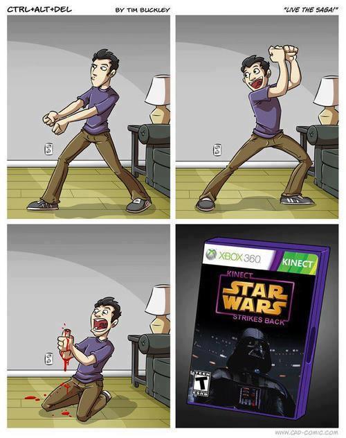 kinect jedi  Star Wars