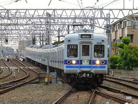 京成電鉄 北総鉄道直通 普通 印旛日本医大行き1 北総7260形