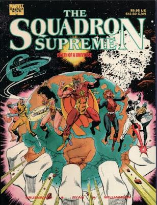 Comic Escuadron Supermo Muerte del Universo