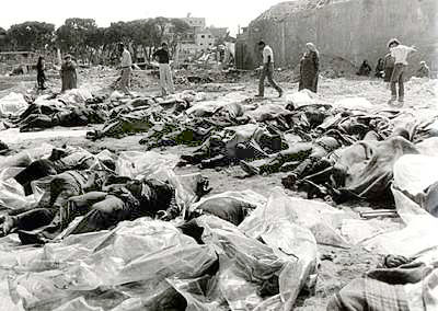 The massacre at the Arab village of Deir Yassin