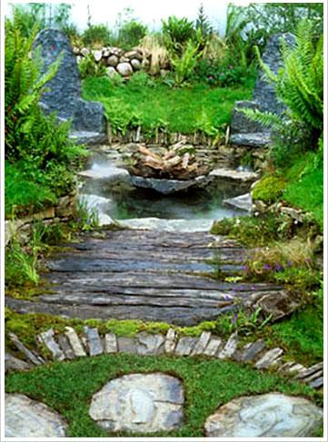 Stone art blog landscape designer mary reynolds for Celtic garden designs