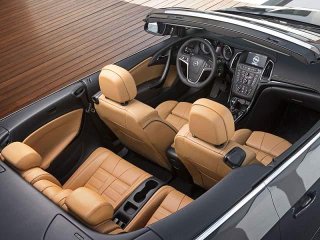 Opel Cascada 2013 interior
