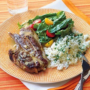lamb chops with tahini sauce recipe - how to make lamb chops with tahini sauce