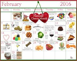 February Food Celebrations