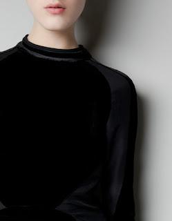 zara elbise modeli siyah