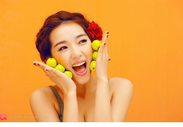 1 Orange color of sexy-Very cute asian girl - girlcute4u.blogspot.com