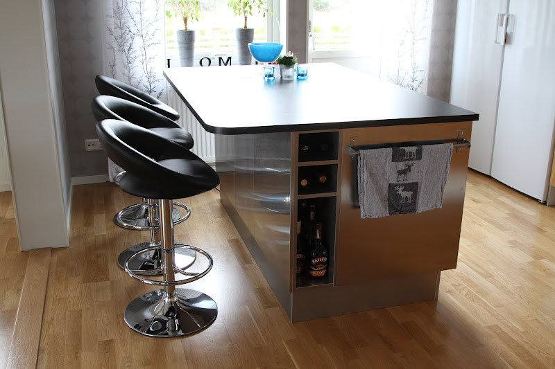 Nytt Kok Radhus : planera kok med kokso  Kokso Sittplats Vita kok med koksluckor