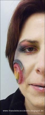 Christine Kunkel MUA Make Up Artist Visagistin Maskenbildnerin Applikation SFX Spezielles Make Up Aschaffenburg Großostheim Rhein Main Gebiet professionell