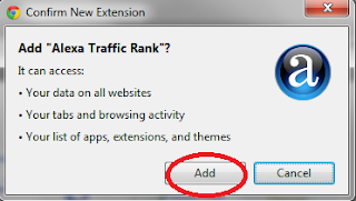 add Alexa toolbar Google Chrome