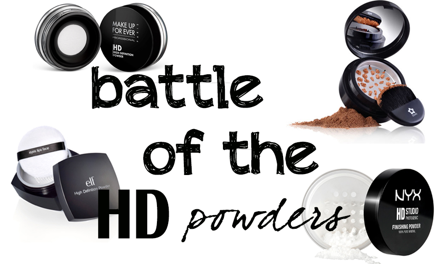 how to use hd finishing powder