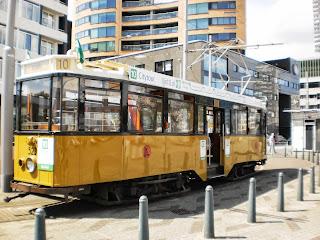 Oude tram Rotterdam