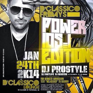 D'Classico Lounge, January 24, 2014