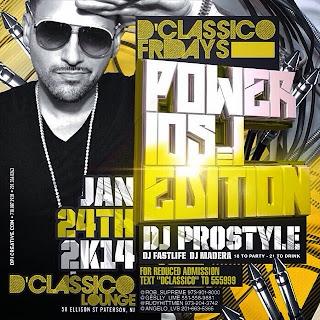 D'Classico Lounge, January 24, 2014