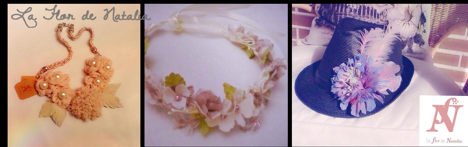 accesorios handmade la flor de Natalia