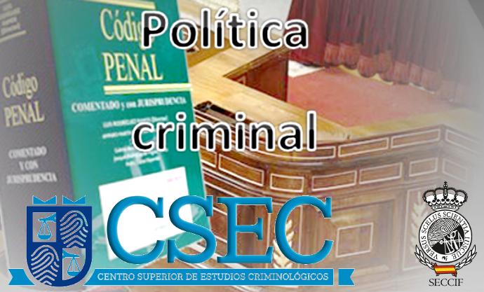 Curso <i>on line</i> de <b>Política Criminal</b>