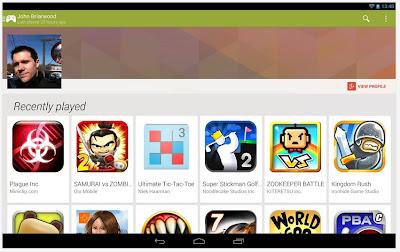 แอพ android รวมเกมยอดฮิตด้วยapp Google Play เกม