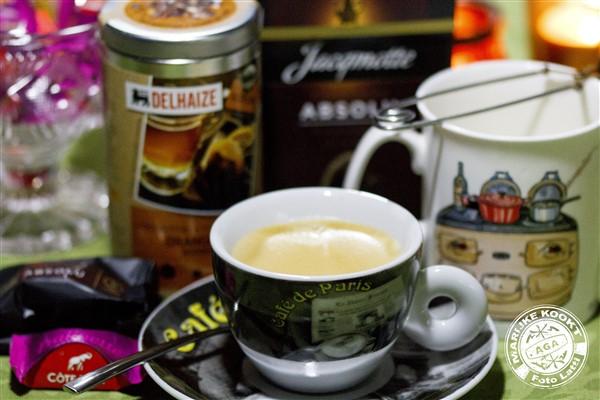 Dessertthee - Koffie Caps