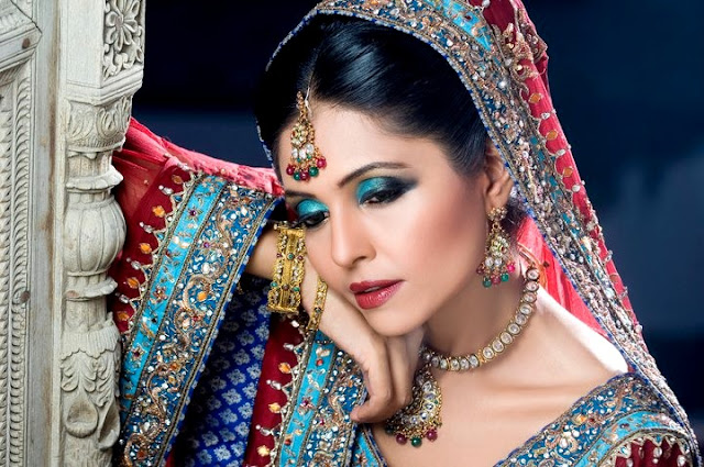 Laiqa Hasan Latest Bridal Make-up Collection 2012 | Wedding Party Make-up Collection 2011-12 ...