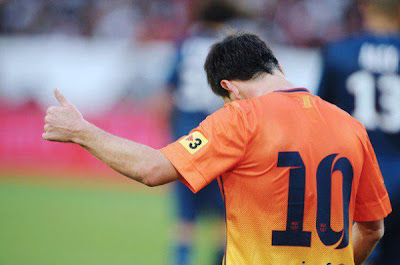 4 minutos necesitó Messi para que ganara el Barcelona