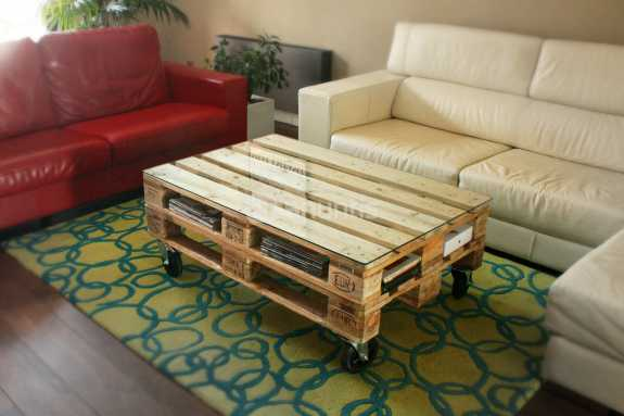Zoom conciencias reciclaje creativo el mundo del palet - Como hacer una mesa con palets ...