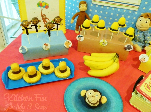 Curious George Party With LOTS Of Fun Food Ideas