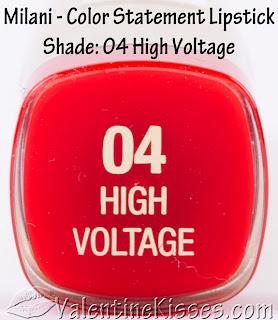 Valentine Kisses: Milani Color Statement Lipstick for ...