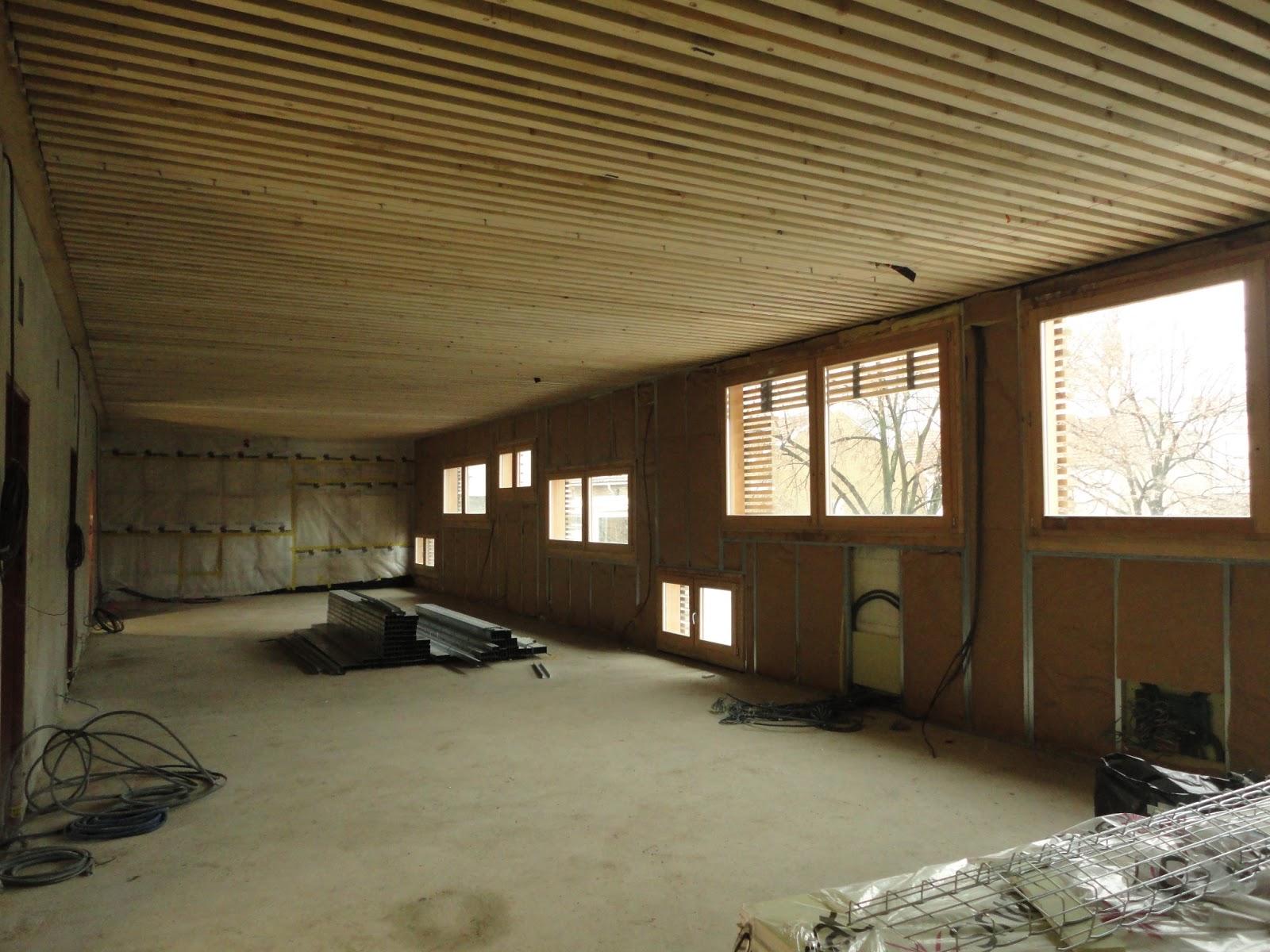 Construction de la maison du val courbevoie doublage for Doublage mur interieur