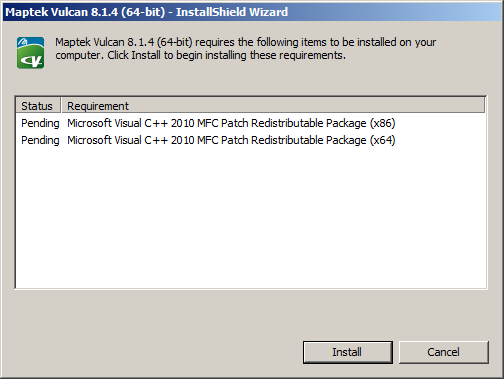 Microsoft Redistributable