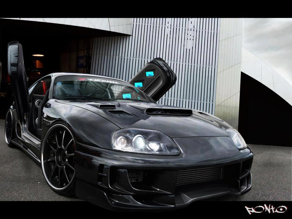 Modified Car Toyota Supra Toyota Supra Modified