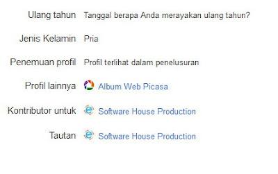 Cara Menampilkan Foto Profil Pada Hasil Pencarian Google
