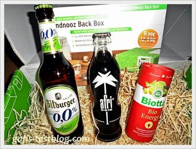 Brandnooz September Box 2013 - Getränke