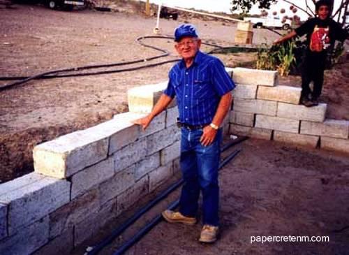 Arquitectura de casas construcci n ecol gica con concreto for Ladrillos para piletas