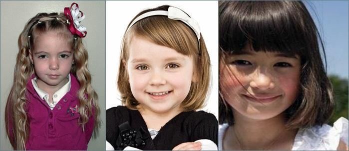 Berikut ini beberapa gaya rambut anak perempuan yang saya rasa dapat