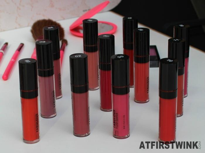 HEMA Fabulous liquid lipsticks