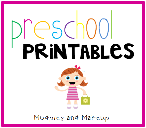 Mudpies and Make-up: Horse Preschool Printables