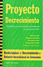 """""""Proyecto decrecimiento""""(pdf)."""