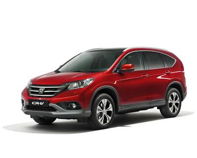 UK Australia Honda details next generation CR V SUV   2013 Best